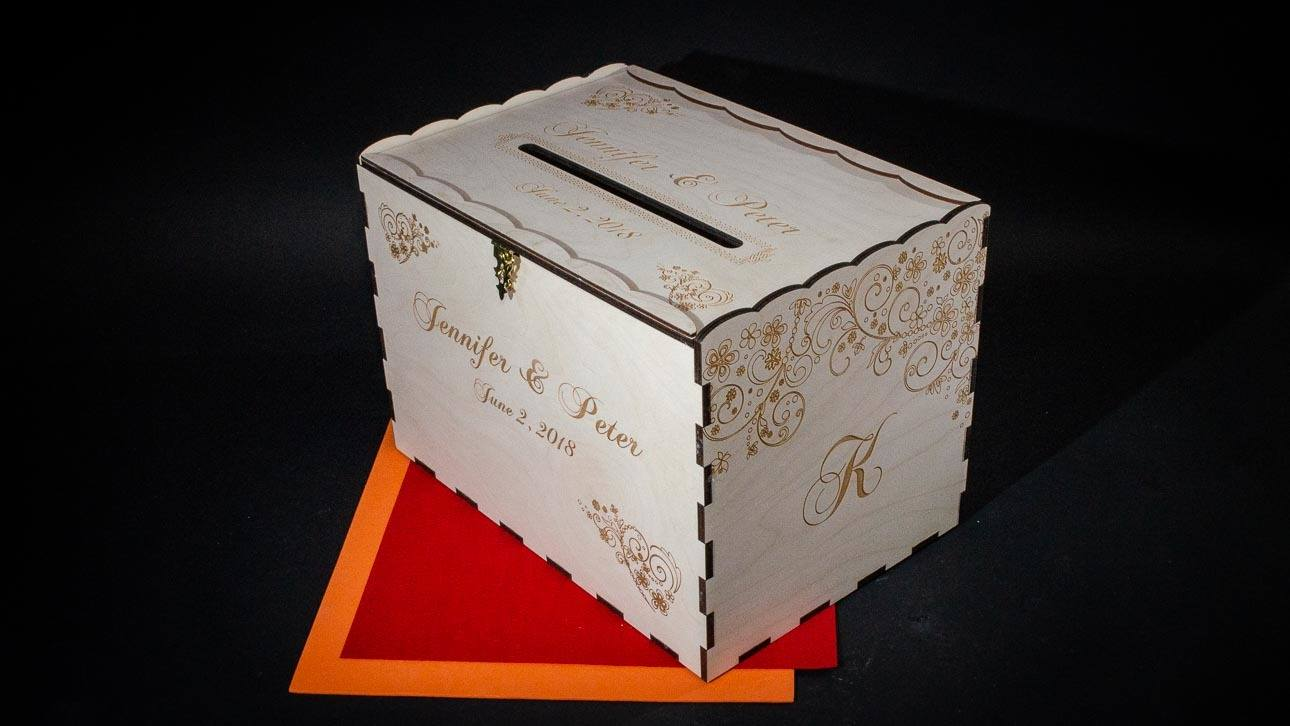 Standard Size Card Box